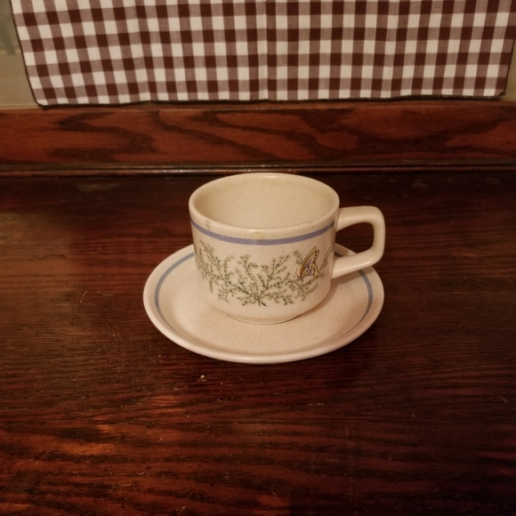 Lenox Temperware Fancy Free cup and saucer